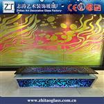 彩绘琉璃玻璃热熔琉璃玻璃