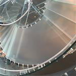 防滑钢化超白玻璃楼梯踏板