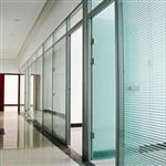 贵州博众办公双面5+5mm钢化玻璃隔断