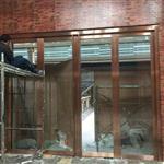 昆山钢化玻璃隔断