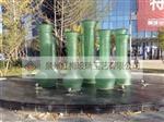 叠层流水玻璃雕塑