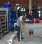 PVB夹层玻璃生产设备操作步骤