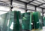 广州十九个厚钢化清玻璃