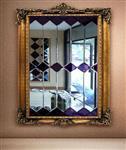河南艺术玻璃背景墙