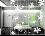 彩绘艺术玻璃装饰背景墙专用特种玻璃
