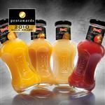 厂家批发350ml冷泡茶玻璃瓶