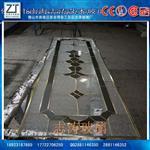 志涛玻璃生产镶嵌铜条工艺玻璃