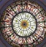 玫瑰窗教堂玻璃