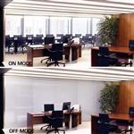 智能调光玻璃, 高品质通电玻璃
