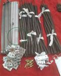 高温电炉丝 工业电阻丝 发热丝 铁铬铝 镍铬电热合金丝 厂家