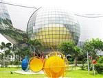 双曲面球形玻璃