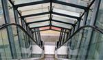 超市扶梯玻璃