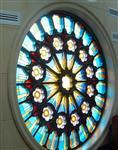 圆形玻璃窗