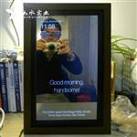 樹莓派魔術鏡 手工DIY 廣告機單面鏡 鏡面防水電視機