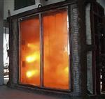 6+6防火钢化夹胶玻璃