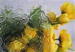 压花玻璃 装饰玻璃压延四季红 钻石 海棠厂家批发规格齐全 举