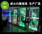 广州生产激光内雕玻璃厂家