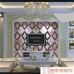 南昌电视玻璃背景墙