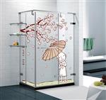 山东淋浴房钢化玻璃