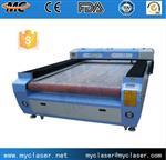青岛MC1630全自动沙发面料激光切割机
