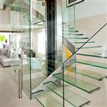 艺术玻璃屏风 钢化玻璃工艺