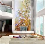 艺术玻璃玄关