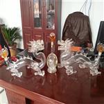 龙凤高档玻璃工艺酒瓶