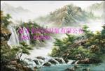 天津玻璃背景墙装饰