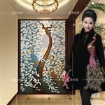 幸福树发财树玻璃艺术马赛克剪画装饰背景墙