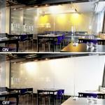 会议室隔断智能调光玻璃 雾化玻璃