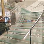 舞台楼梯高强度防滑玻璃