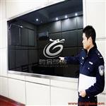 公安局辨认室单反玻璃
