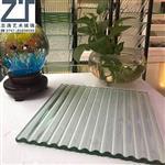 夹胶热熔玻璃 超白热熔玻璃 压铸玻璃 钢化玻璃订做