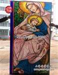 教堂玻璃彩色镶嵌玻璃专业厂家上海圆博