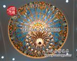 彩色玻璃穹顶彩绘玻璃穹顶厂家定制