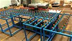 JGM-S2玻璃简易磨边机 两磨头快速倒棱边磨边机