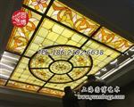 彩绘玻璃穹顶彩色玻璃穹顶专业厂家
