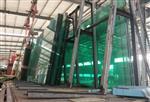 泉州7米长19mm热弯钢化玻璃