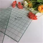 铁丝玻璃菱形格供应