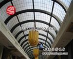 玻璃采光顶钢弯玻璃穹顶彩色玻璃穹顶专业厂家圆博