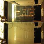 光电玻璃断电雾化