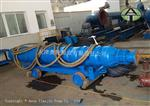 喷泉用卧式潜水泵_大流量人造瀑布潜水泵_400m3/h流量
