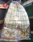 圆博彩绘玻璃穹顶彩色玻璃穹顶