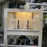 安徽加热器喷砂机 输送式喷砂机KH-SS800