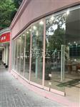 上海可开门玻璃移动屏风厂家