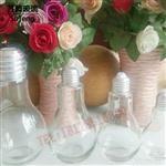 供应玻璃饮料灯泡瓶