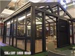 阳光房可建造在楼顶、院子庭院、天井等场合