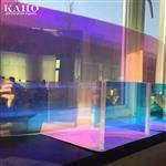 七彩镀膜玻璃、变色玻璃、炫彩玻璃