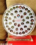 西安水晶工艺品桌摆定制 战友同学聚会纪念品刻字 水晶纪念盘
