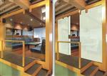 南京调光玻璃价格酒店隔断雾化玻璃通电